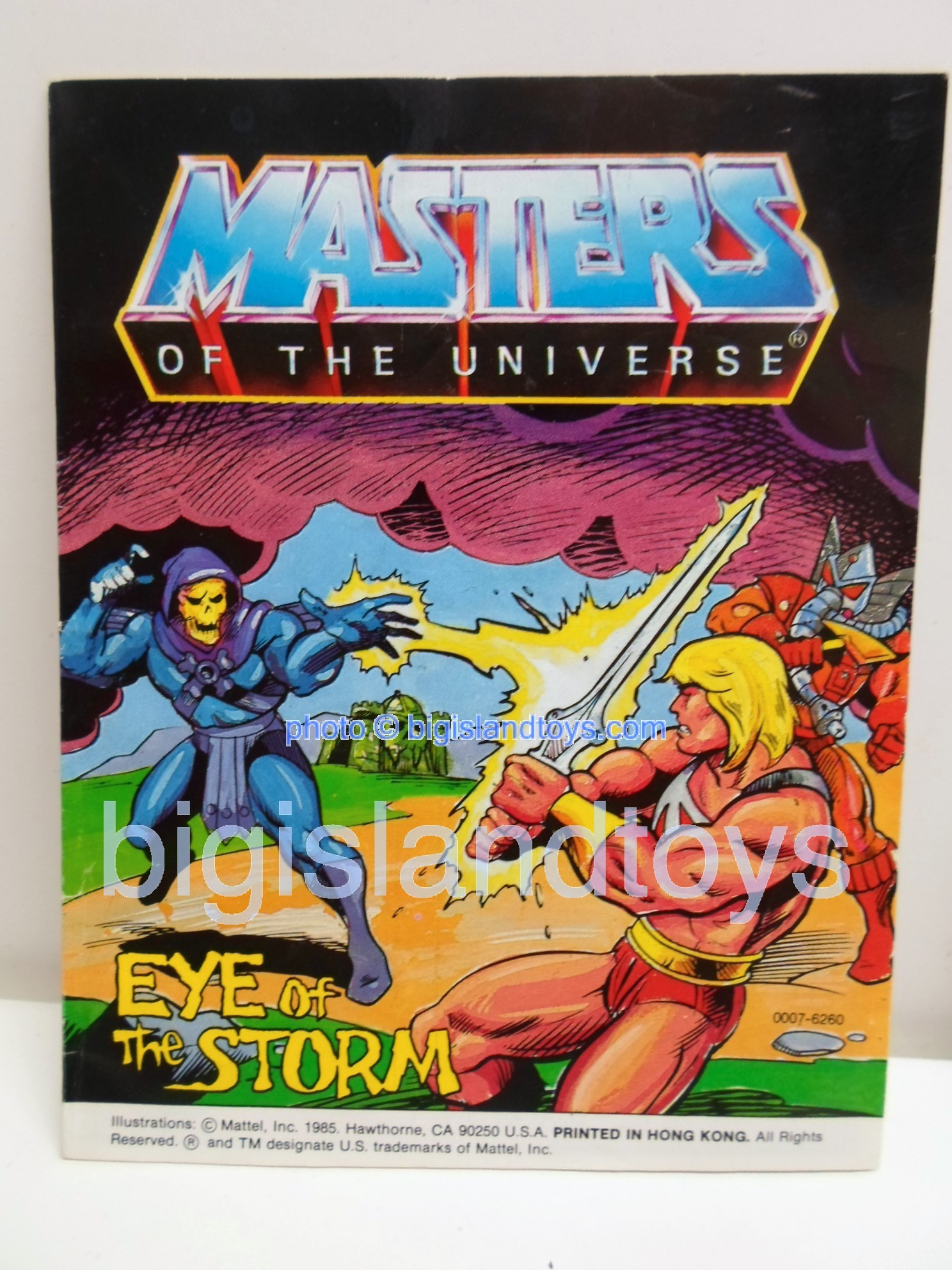 Masters of the Universe Mini Comics   Eye of the Storm