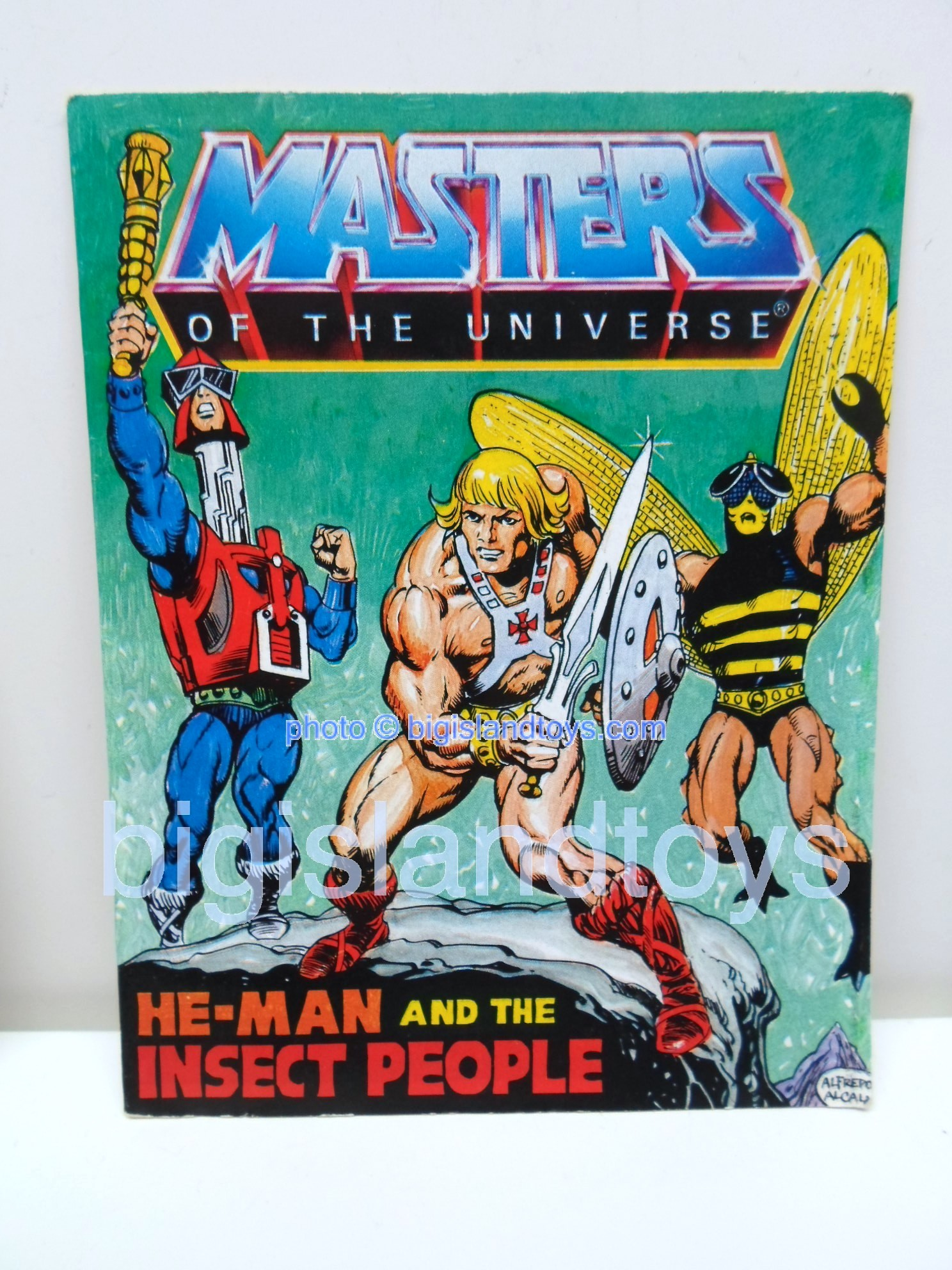 Masters of the Universe Mini Comics   He-Man and the Insect People