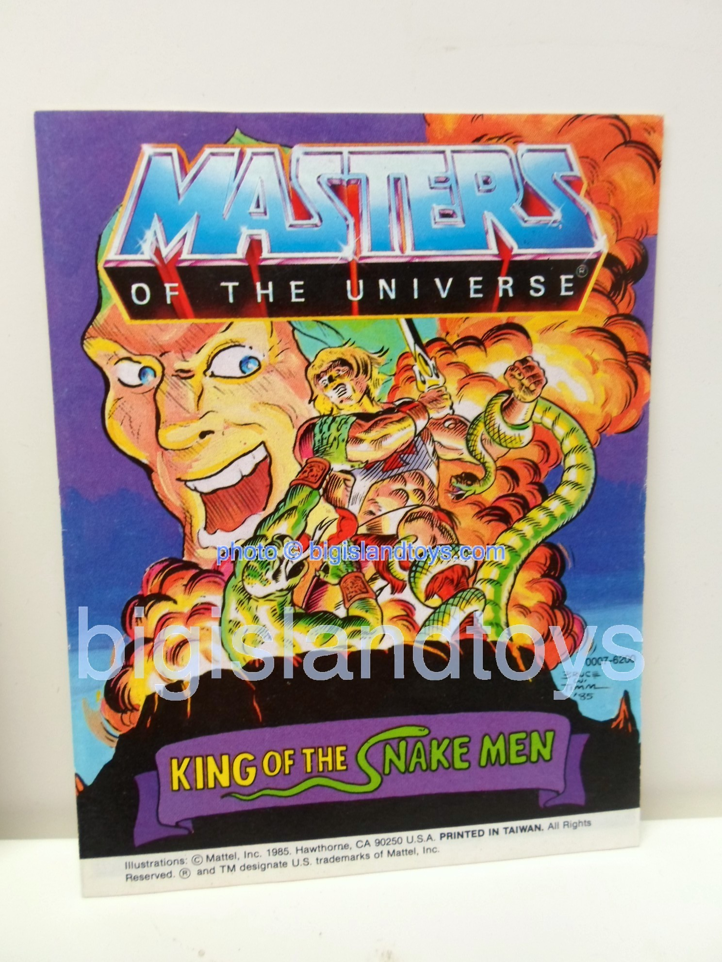 Masters of the Universe Mini Comics   King of the Snake Men