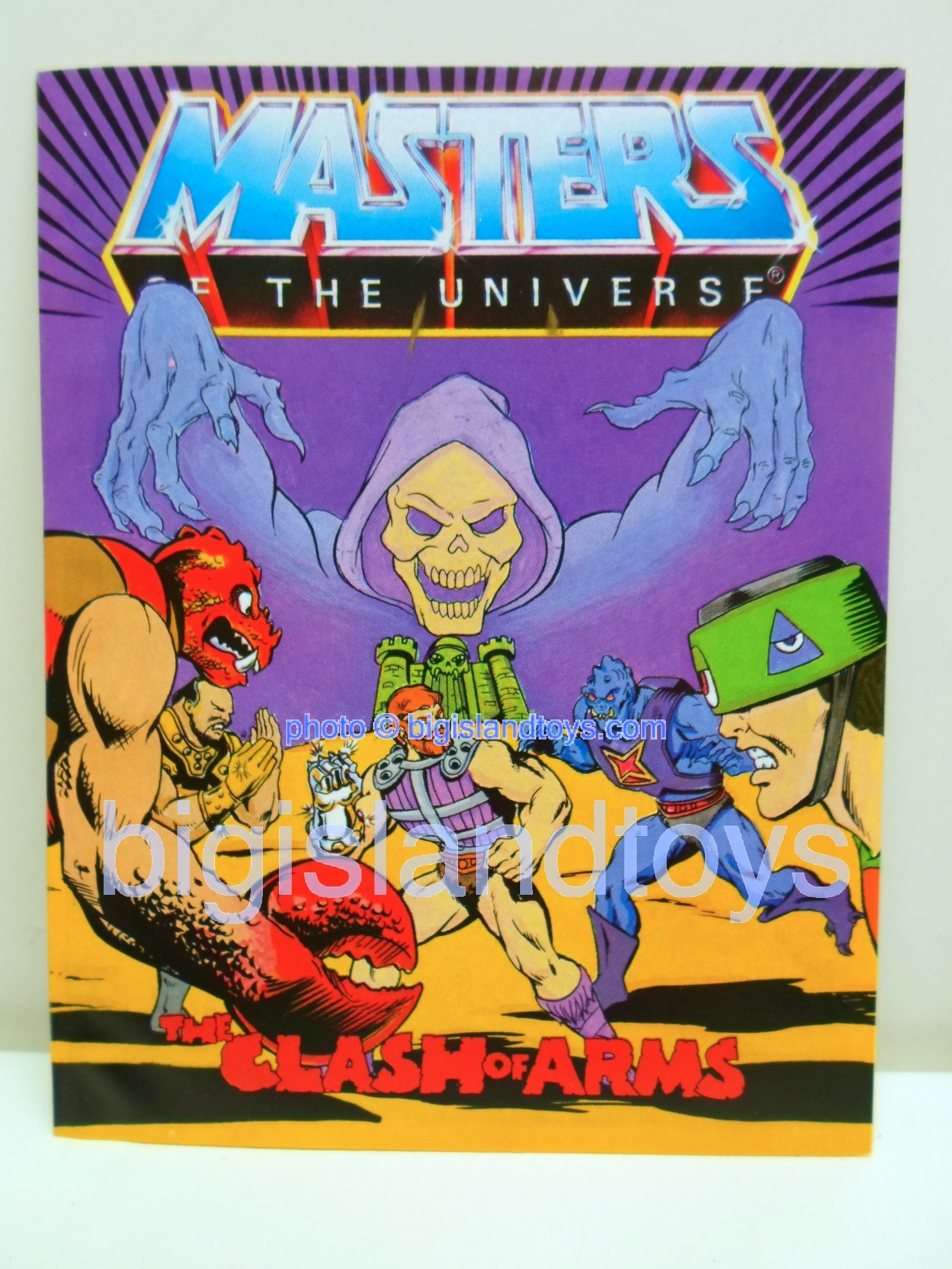 Masters of the Universe Mini Comics   The Clash of Arms