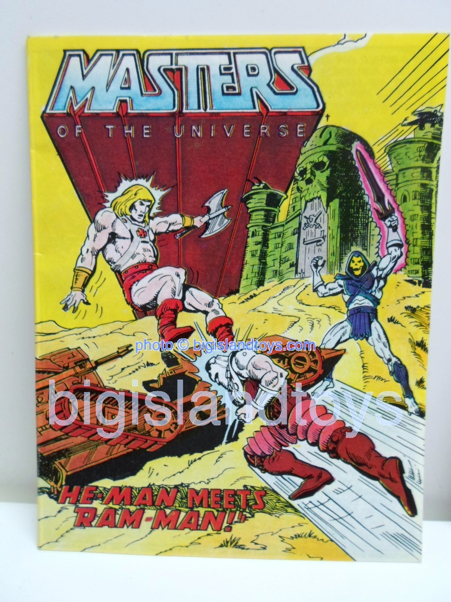 Masters of the Universe Mini Comics   He-Man Meets Ram-Man!