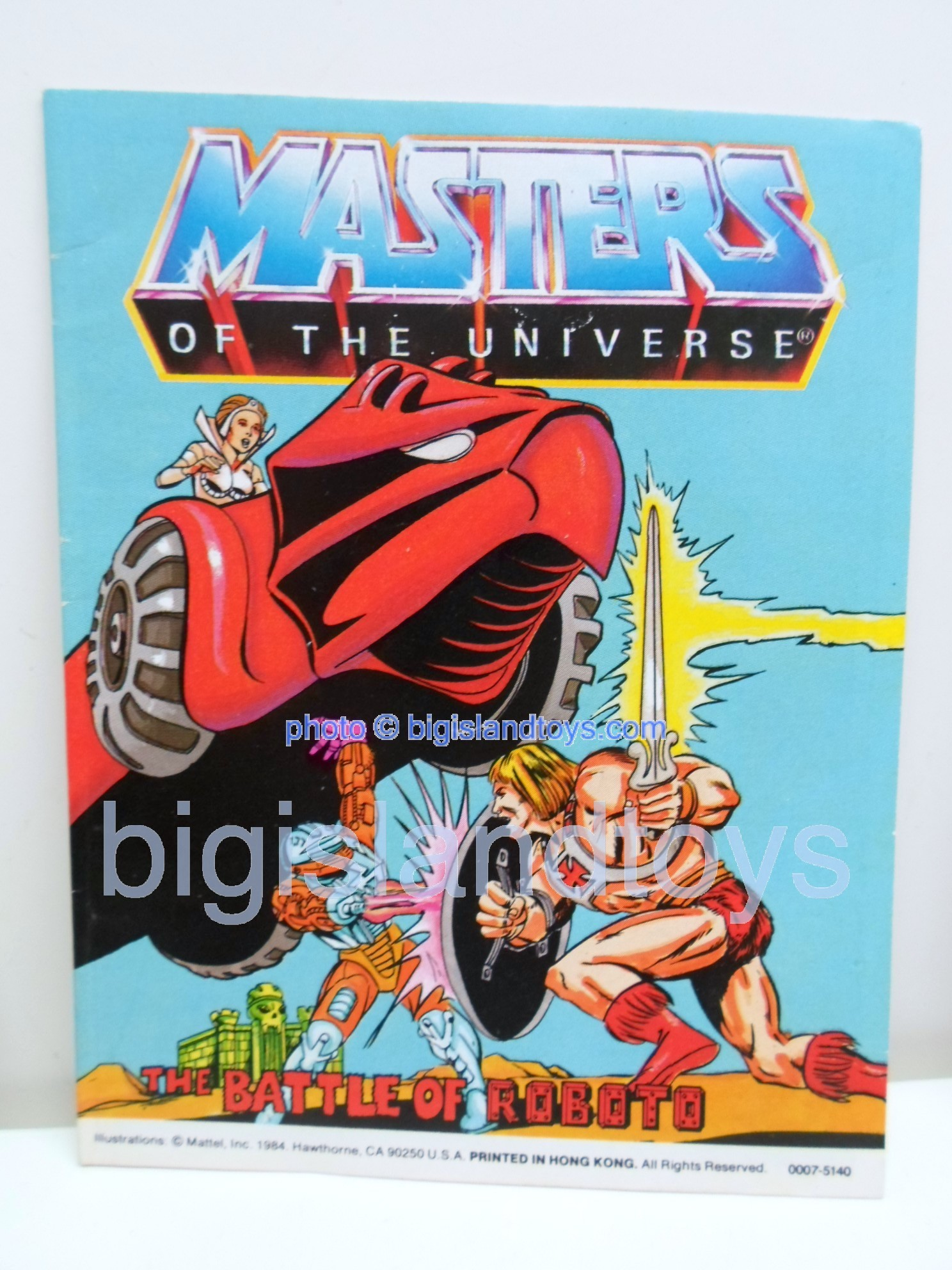 Masters of the Universe Mini Comics   The Battle of Roboto