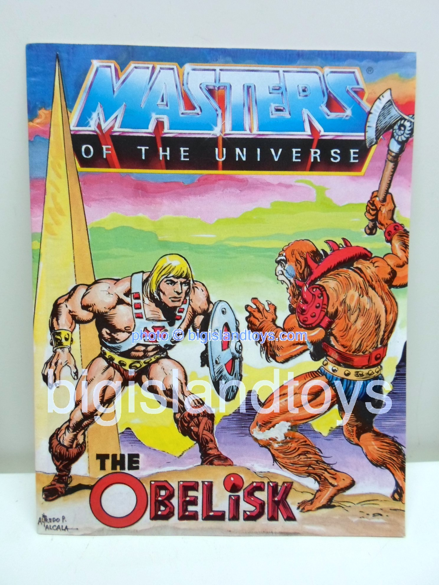Masters of the Universe Mini Comics   The Obelisk