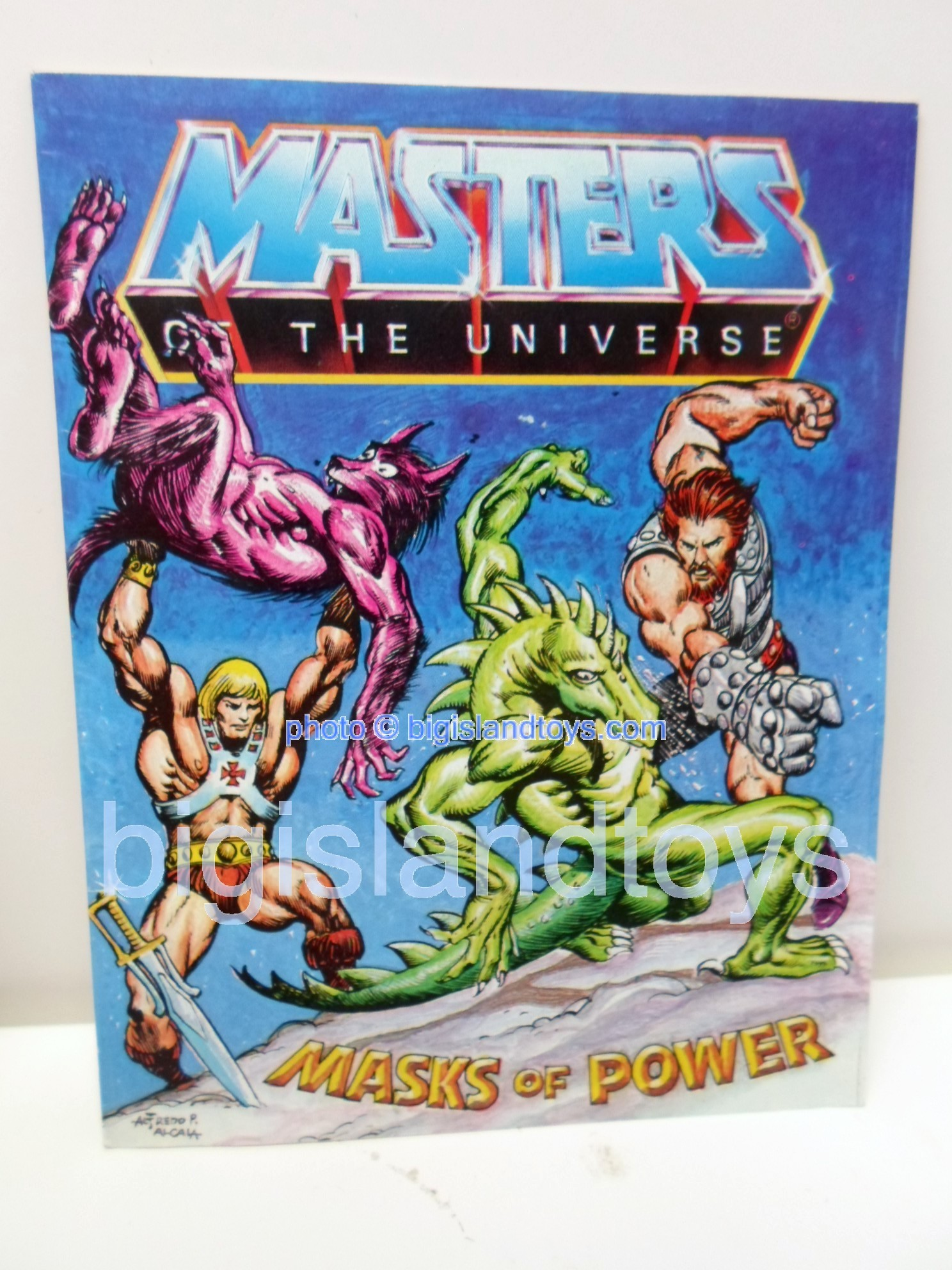 Masters of the Universe Mini Comics   Masks of Power