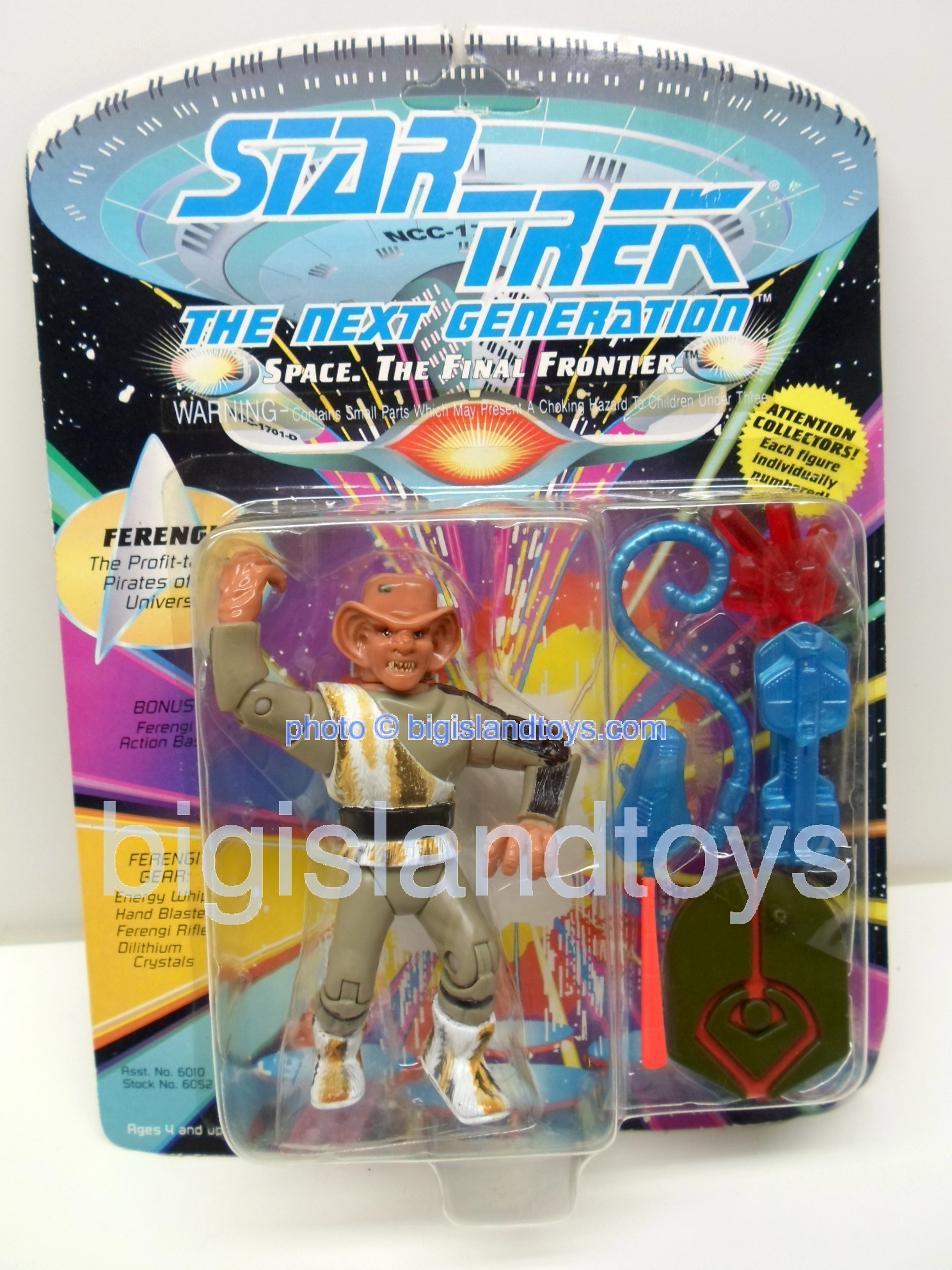 Star Trek  The Next Generation   1992 FERENGI Black on Boots