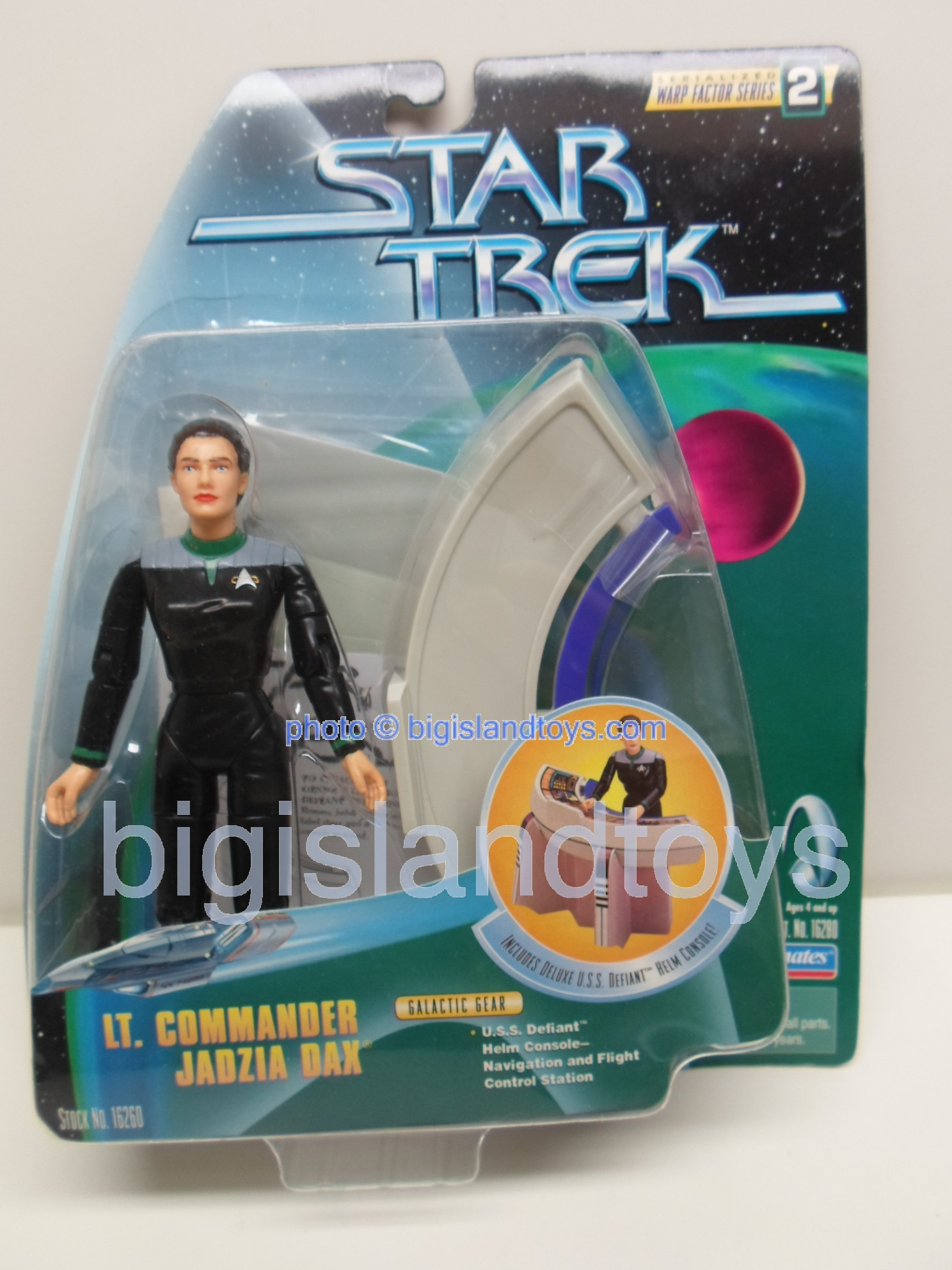 Star Trek  Galactic Gear Combat Action   LT COMMANDER JADZIA DAX