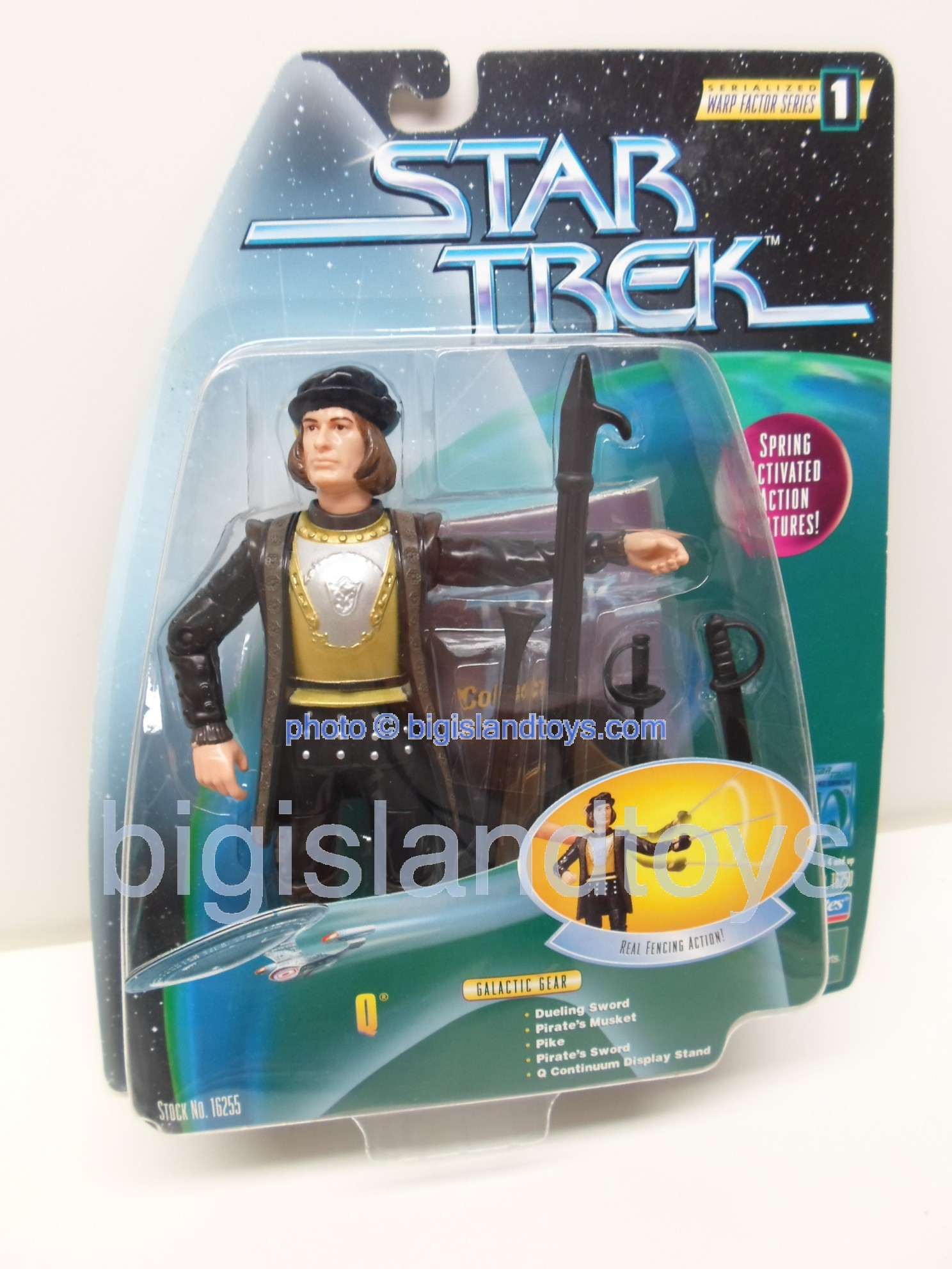 Star Trek  Galactic Gear Combat Action   Q