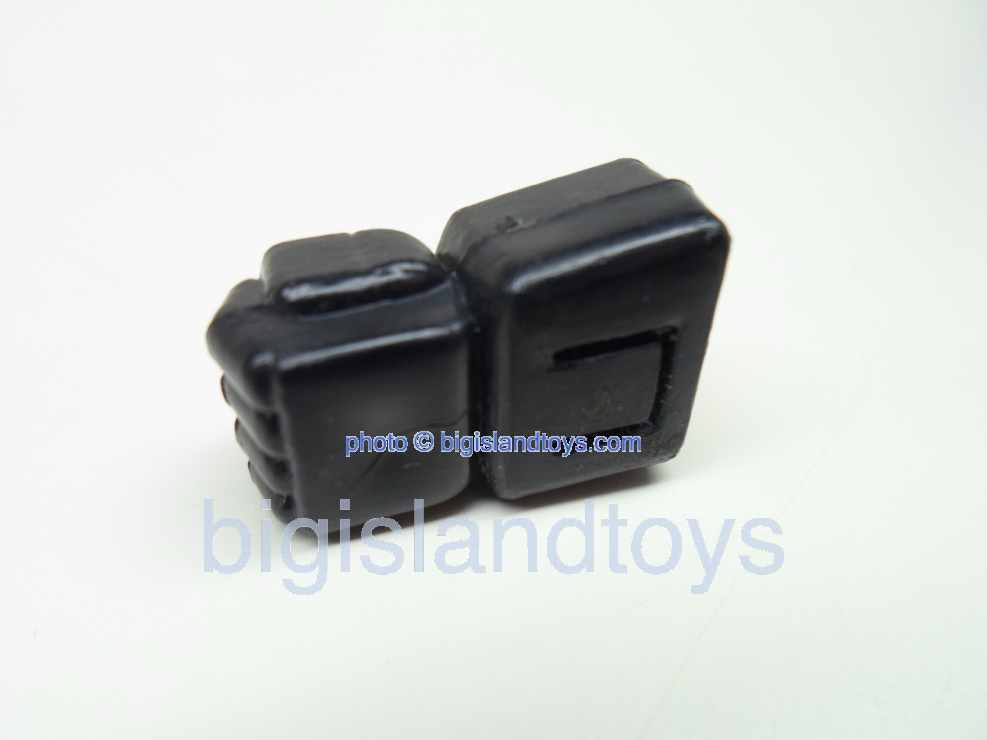 Transformers Generation One G1 Parts   JET BLACK LEFT FIST SINGLE TAB
