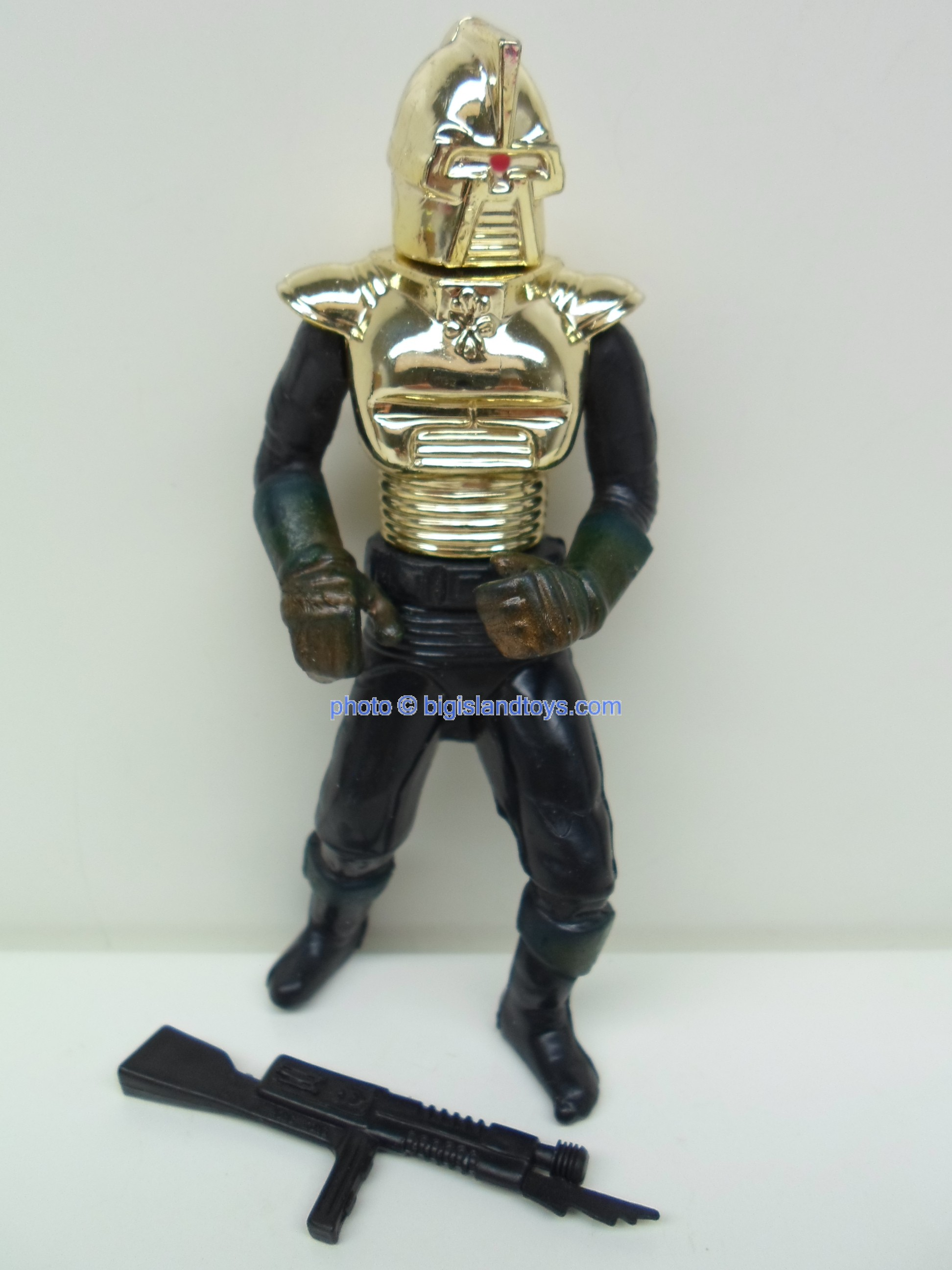 Battlestar Galactica    Cylon Commander Gold